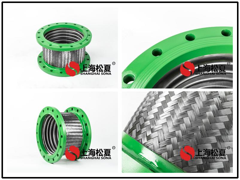 不锈钢波纹软管有螺纹式、快速式和法兰式三种